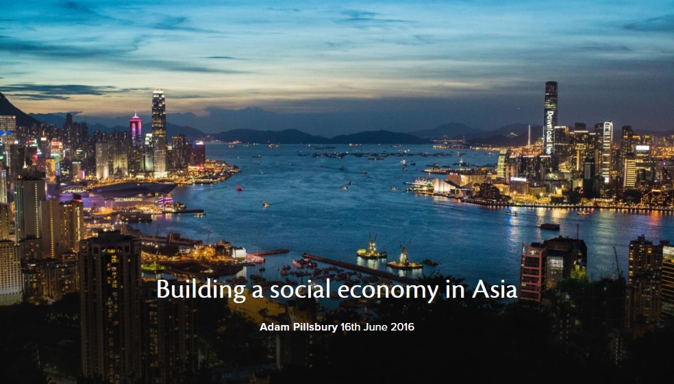 Building a social economy in Asia